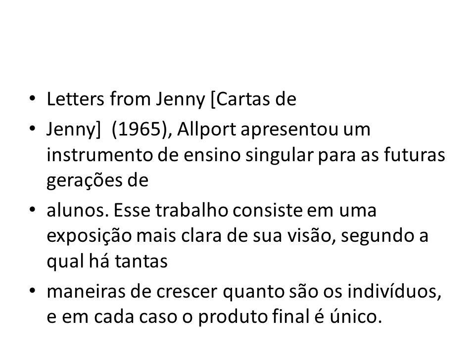 Letters from Jenny [Cartas de